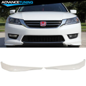 Fits 13 15 Accord Sedan Hfp Front Lip Spoiler nh788p White Orchid Pearl