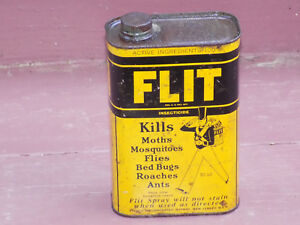 Flit Insecticide Empty 1 Quart Can