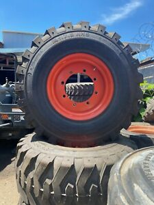 14 17 5 Bobcat Oem Heavy Duty Skid Steer Tires Wheels rims For Bobcat S850