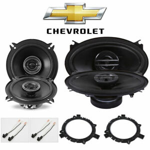 Fits Chevy Silverado Pickup 1999 2006 Speaker Upgrade Pioneer Tsg1345r Tsg4620s