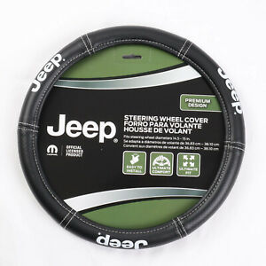 New Jeep Elite Synthetic Leather Car Truck Suv Steering Wheel Cover
