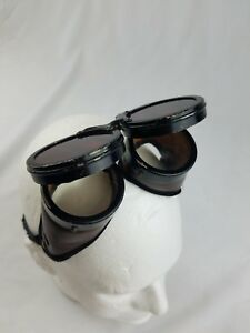 Vintage Welding Eye Protection Safety Working Glasses Steampunk