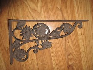 Vintage Wrought Iron Bracket Restaurant Barn House