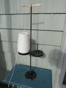 Antique Spool Cotton Co Binder Twine String Holder Country Store Display