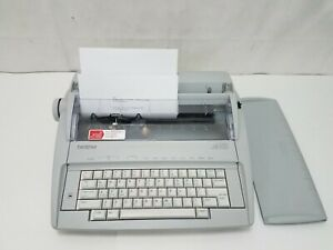 Brother Gx 6750 Correcting Electronic Typewriter With Keyboard Cover Tested