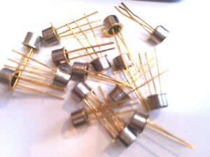 10 Pieces Ga201a Thyristor Scr 100v 3 pin To 18 Unmarked