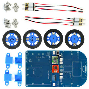 Gear N20 Motor 4wd Wireless Controlled Smart Robot Car Kit For Arduino