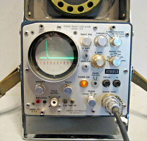 Jerrold Vintage Coax Cable Fault Locator Tester Model 110a Tdr Catv