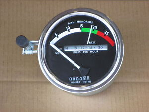 Tachometer W White Needle For John Deere Jd 5010 5020 6030 Industrial 700