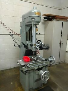 Moore No 1 1 2 Jig Borer Includes Tooling