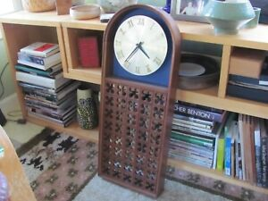Howard Miller Wall Clock George Nelson Associates Umanoff Walnut