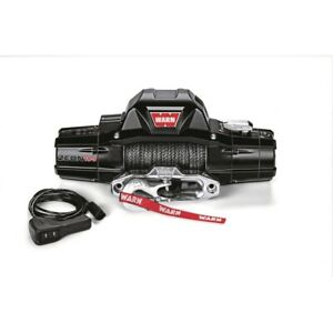 89611 Warn Zeon 10 S Spydura Synthetic Rope 10 000lbs Premium Series Winch