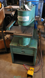 5 Ton X 2 Used Unipunch Air Over Hydraulic Deep Throat Press 1012 up 1771