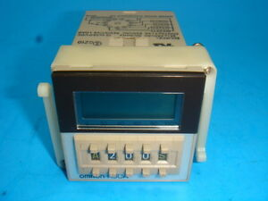 New Omron Solid State Timer H3ca a 99 9s 9990h 24 240vac 12 240vac New