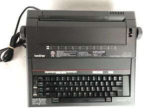 Brother Electronic Typewriter Ax 24 With word spell