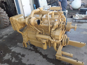 Caterpillar Cat 3406a Diesel Engine 305hp Run Tested Cleaned