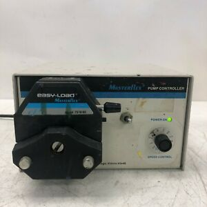 Cole Parmer Masterflex 7553 60 Pump Controller With Pump Head 7518 60 Tested