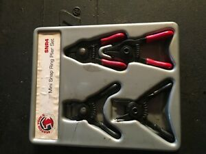 Matco Snr4 4 Mini Snap Ring Plier Set J0290