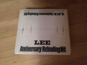NIB Lee Anniversary Reloading Kit Challenger O Frame Press 90962