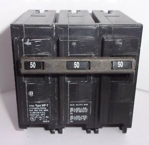 Murray Siemens 50 Amps Type Mpt Mp350 3 Pole 240 Volt Circuit Breaker used