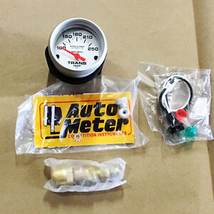 Sale Auto Meter Ultra Lite Pro Comp Electric Trans Temp Gauge 100 250 Deg F