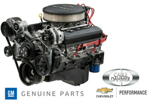 New Chevrolet Performance Gm Zz6 Efi Turn Key Engine 420hp 19368150