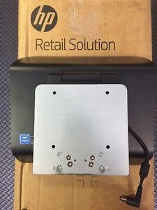 K1c13aa Hp Retail Rp2 Stand 767152 001 With 755702 001 Power Supply 901571 004