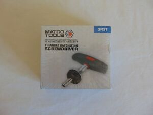 New Matco T Handle Ratcheting Screwdriver Grst