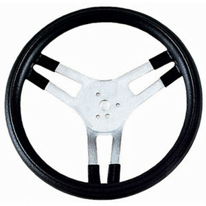 Grant Silver Anodize Aluminum 15 In Diameter Performance Steering Wheel P N 665