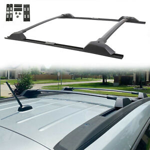 For 09 17 Chevy Traverse Roof Rack Cross Bar Side Rail Package 19244268