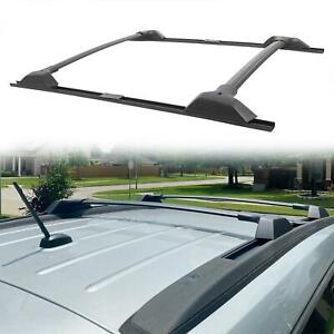 For 09 17 Chevy Traverse Roof Rack Cross Bar Metal Channel Side Rails 19244268