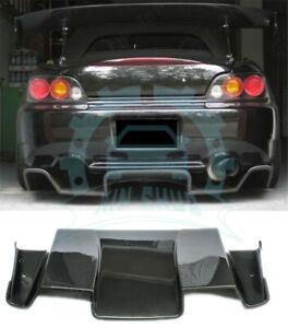 Carbon Rear Diffuser For Honda S2000 Ap1 Ap2 Spoon 2000 2009 Ab244