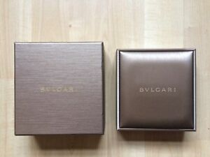 Authentic Bvlgari Jewellery Jewel Necklace Empty Box 13 X 12 X 5cm