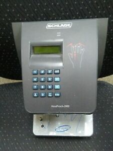 Handpunch 2000 Hp 2000 Ethernet Infinitime Hand Punch Time Clock