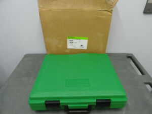New Greenlee 30206 Plastic Case For 7646 7306 Knockout Punch Set Kit Case Only