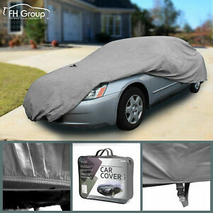 Car Cover Fits Cars Up To 220 Sun Uv Snow Dust Water Resistant Protection