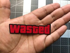 Wasted Gta Decal Sticker Color Jdm Euro Stance Illest Vw Honda Marvel