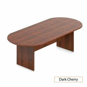 Gof 8ft Conference Table 95 w X 44 d X 29 5 h Dark Cherry Brand New