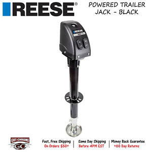 500703 Reese A Frame Powered Drive Trailer Tongue Jack With 14 Travel