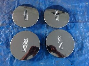 2002 Lincoln Continental 10 Double Spoke Chrome Wheel Center Cap Set Of 4