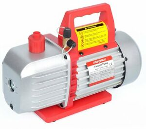 5cfm 2 stage Rotary Vane Vacuum Pump For Hvac auto Ac Refrigerant Or Epoxy