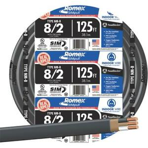 Romex 8 2 Nmw g Wire 1 Each