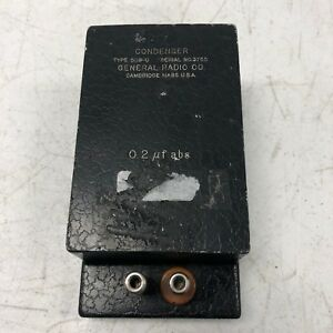 General Radio 509 u Standard Capacitor Tested Working Rare