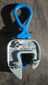 plate Lifting Clamp Campbell merrill Gx 1 2 Ton Grip 5 8 1 1 8 Inch