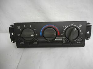 00 02 Chevy Suburban 1500 2500 Climate Control W Rear Defrost 15054698