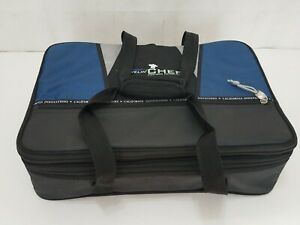 Traveling Chef Expandable Thermal Insulated Food Carrier Bag With Two Containers