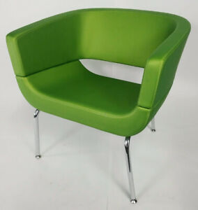 Allermuir Lola Green Luxury Contemporary Chair