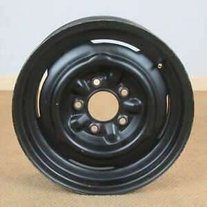 1953 1962 Gm Chevy Corvette Belair Nub Nubs Stock Steel Wheel Rim 15 X 5