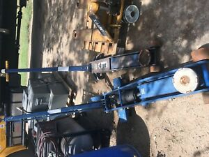 Lincoln Hydraulic 10 Ton Floor Dolly Jack Long Chassis 3 Pump Position