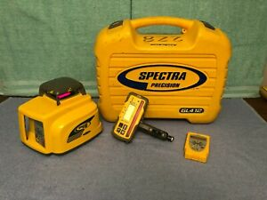Spectra Precision Gl412 Self leveling Rotary Laser Level With Rc402